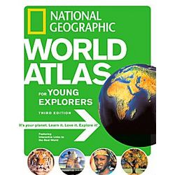 World Atlas for Young Explorers 3rd Edition