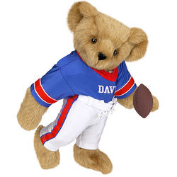 "15"" Football Teddy Bear"
