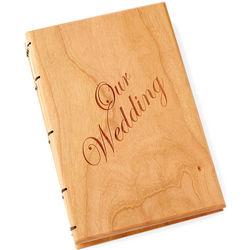 Handcrafted Heirloom Wedding Book