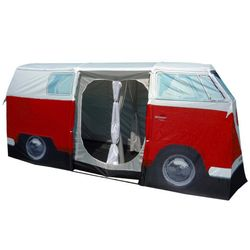 Red Volkswagen Bus Full Size 4-Person Tent