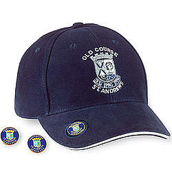 St Andrews Old Course Cap with Magnetic Marker