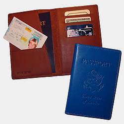 Premium Passport Holder with US Emblem