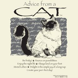 Advice From a Cat T-Shirt