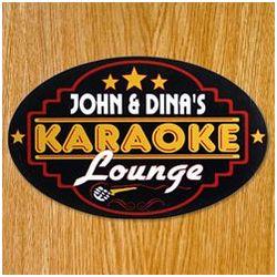 Karaoke Personalized Sign