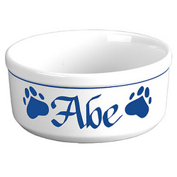 "Personalized 7"" Dog Bowl"