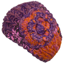 Women's Multi-Color Knit Headwrap