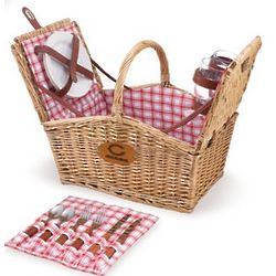 Chicago Bears Piccadilly Willow Picnic Basket