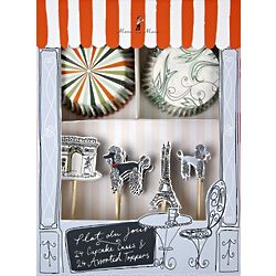 Chic Paris Party Cupcake Kit