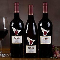 Talaria Vineyards Sonoma Wine Trio