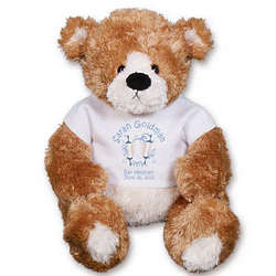 Personalized Celebration Scrolls Teddy Bear