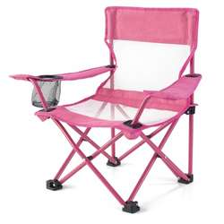 Kid's Pink Fold and Go Chair