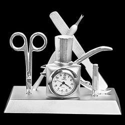 Manicurist Tabletop Clock