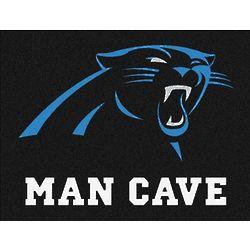 Carolina Panthers Man Cave Rug