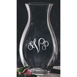 "Personalized 10"" Erika Vase"
