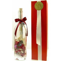 Today, Tomorrow & Always Message Bottle Gift Set