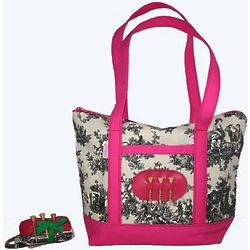 Golf Tote with Golf Belt Gift Set