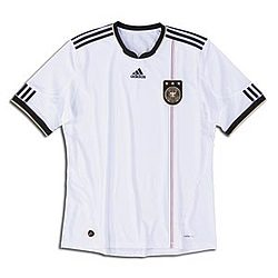 Germany Home Replica Soccer Jersey 2009-2011
