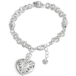 Expressions Trilogy Heart Bracelet