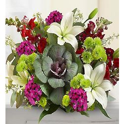 Grape Harvest Floral Bouquet