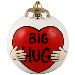 Big Hug Christmas Ornament