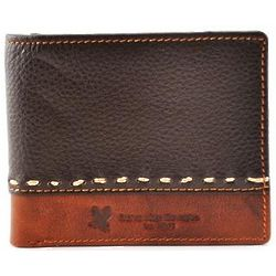 Leather Wallet with Embossed Scripture Verse