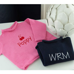 Personalized Kids' Rollneck Sweater