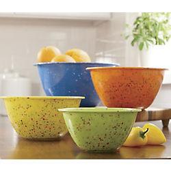 Retro Confetti Melamine Mixing Bowls