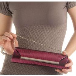 Girly and Glamorous Metallic Mini Clutch Bag