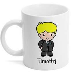 Bride or Groom Custom Character Mug