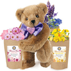 Mother's Day Blossom Teddy Bear