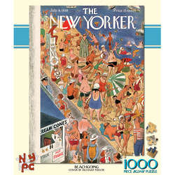Beachgoing 100-Piece New Yorker Puzzle