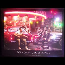Legendary Crossroads Neon and LED Light Wall Hanging