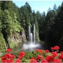 Butchart Gardens Tour for Two
