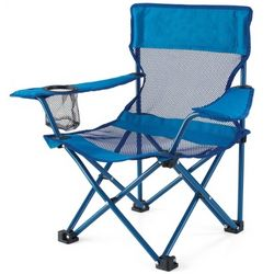 Kid's Blue Fold and Go Chair