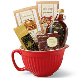 Breakfast Batter Bowl Gift Basket