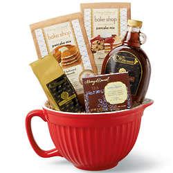 Breakfast Batter Bowl Gift Basket