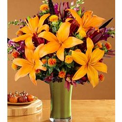 Autumn Birthday Wishes Bouquet