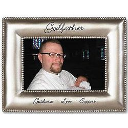 Guidance, Love, Support Godfather Picture Frame