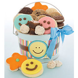 Happy Faces Cookie Treats Pail