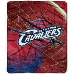 Cleveland Cavaliers Reflect Raschel Throw Blanket
