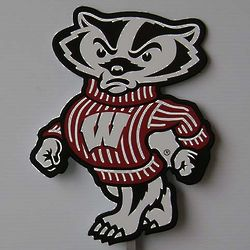 Bucky Badger Lawn Ornament