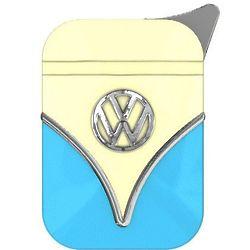 Volkswagen Bus Blue and Cream Lighter
