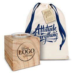 Personalized Attitude Is Everything Candle Gift Set