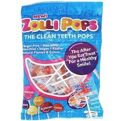 Clean Teeth Lollipops Variety Bag of 25 Pieces