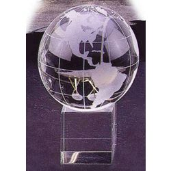 Glass Globe with Base