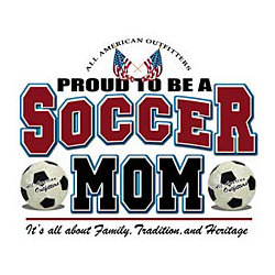 Proud Soccer Mom T-Shirt