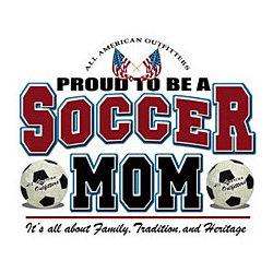 Proud Soccer Mom T-Shirt