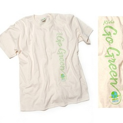 Organic Cotton 'Kids Go Green' T-Shirt
