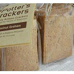 Organic Hazelnut Graham Crackers