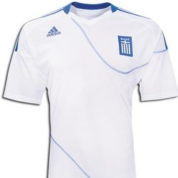 Greece Home Replica Soccer Jersey